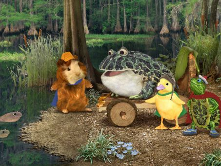 The Wonder Pets! : Save the Bullfrog!