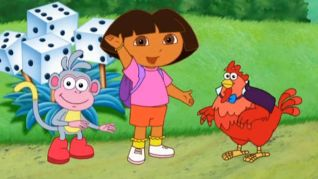 Dora the Explorer: The Big Red Chicken's Magic Wand