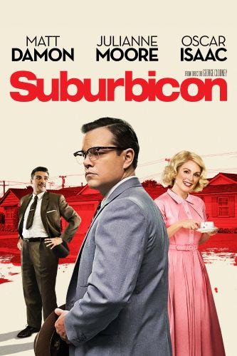 Poster of Suburbicon 2017 1080p English BluRay Full Movie Download HD