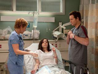 Nurse Jackie: ...Deaf Blind Tumor Pee-Test...