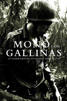 Mono con Gallinas