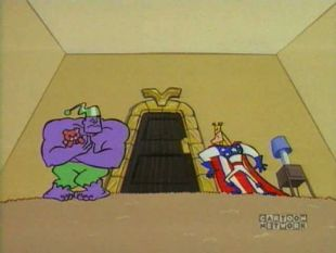 Dexter's Laboratory : The Justice Friends: Valhallen's Room