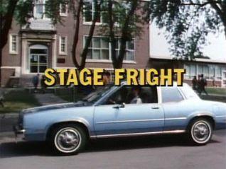Degrassi Junior High: Stagefright