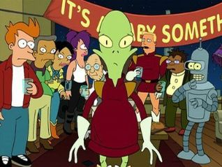 Futurama: Kif Gets Knocked Up a Notch