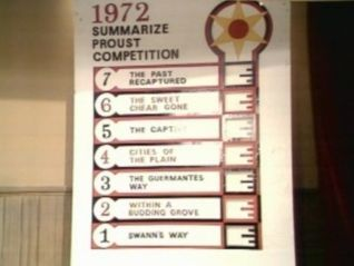 Monty Python's Flying Circus: The All-England Summarize Proust Competition