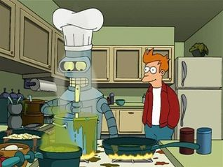 Futurama: 30% Iron Chef