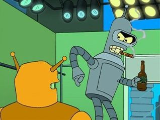 Futurama: Bender Should Not Be Allowed on TV