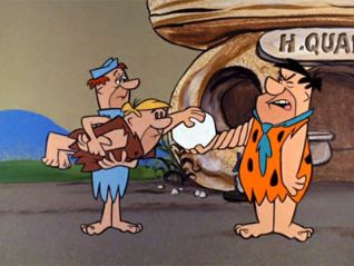 The Flintstones: Glue for Two
