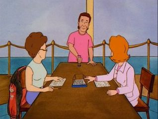 King of the Hill: Peggy the Boggle Champ