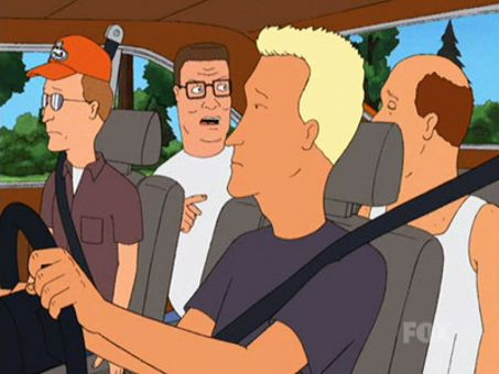 King of the Hill : Hank's on Board