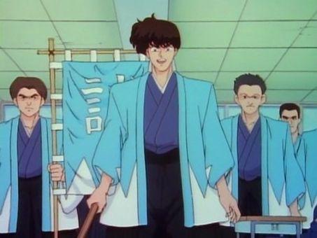 Ranma 1/2 : Tatewaki Kuno, Substitute Principal