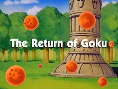 Dragon Ball : The Return of Goku