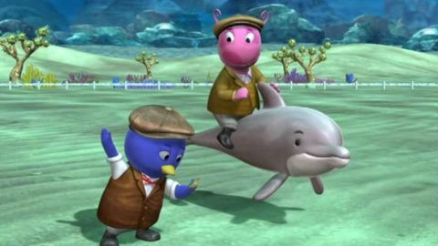 The Backyardigans : The Great Dolphin Race
