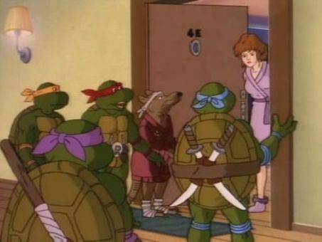 Teenage Mutant Ninja Turtles : A Thing About Rats