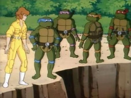 Teenage Mutant Ninja Turtles : Turtles at the Earth's Core