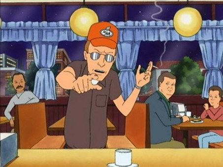 King of the Hill : Smoking and the Bandit