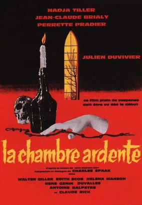 La chambre ardente 1962 julien duvivier cast and for Chambre 13 film