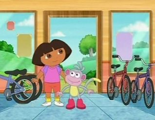 Dora the Explorer: Boots's First Bike