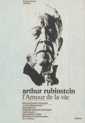 L'Amour De La Vie: Artur Rubinstein
