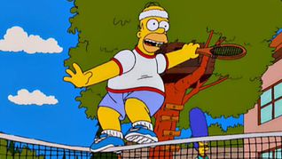 The Simpsons: Tennis the Menace
