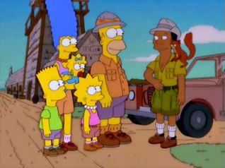 The Simpsons: Simpson Safari