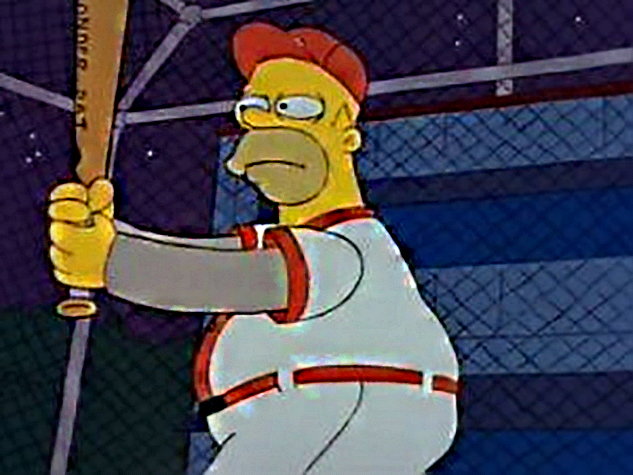 The Simpsons: Homer at the Bat