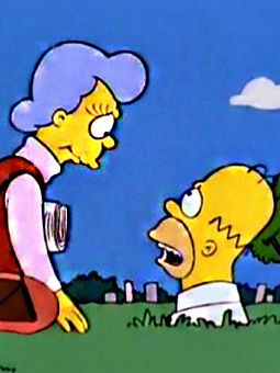 The Simpsons : Mother Simpson