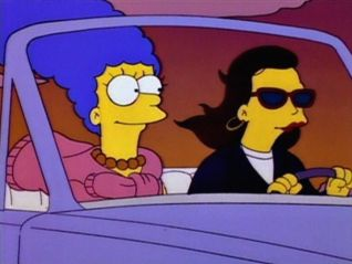 The Simpsons: Marge on the Lam