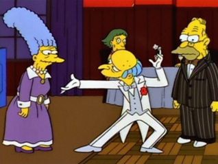 The Simpsons: Lady Bouvier's Lover