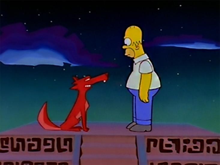 The Simpsons: El Viaje Misterioso de Nuestro Homer