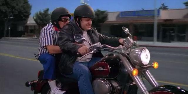 The King of Queens: Queasy Rider