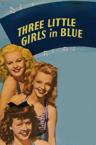 Three Little Girls in Blue