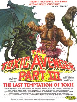 Toxic Avenger 3: The Last Temptation of Toxie