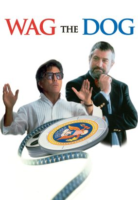 wag the dog theme The expression 'wag the dog' was elaborately used as theme of the movie 'wag  the dog,' a 1997 film starring robert de niro and dustin.