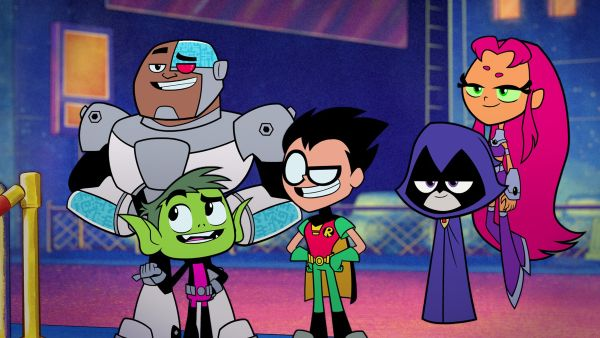 Teen Titans Go To The Movies 2018 - Aaron Horvath, Peter Rida Michail  Review -9008