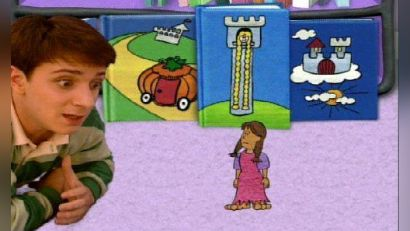Blue's Clues: What Story Does Blue Want to Hear?