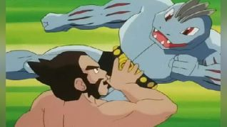 Pokemon: Machoke, Machoke Man!