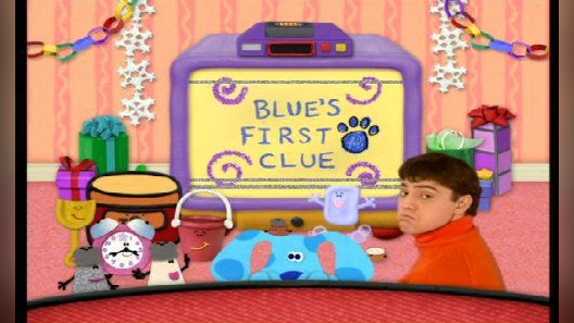 Blues Clues What Does Blue Wanna Do on a Rainy Day 1997