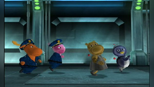 The Backyardigans Cops And Robots 2007 Synopsis