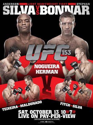 UFC 153: Silva vs. Bonnar