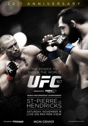 UFC 167: Georges St-Pierre vs. Hendricks
