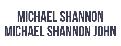 Michael Shannon Michael Shannon John
