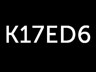 K17ED6 Logo