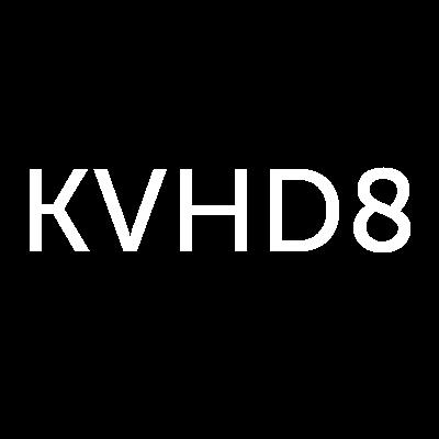 KVHD8 Logo