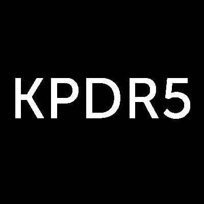 KPDR5 Logo