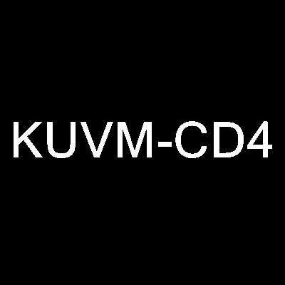 KUVM-CD4 Logo