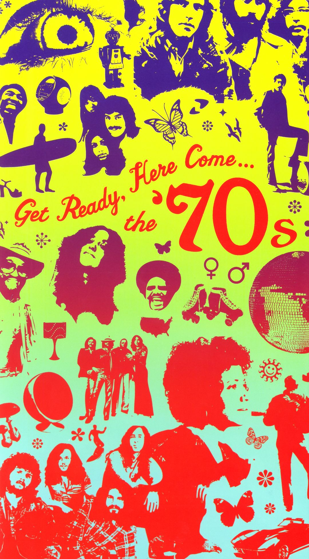 get ready here come the 70s various artists songs reviews