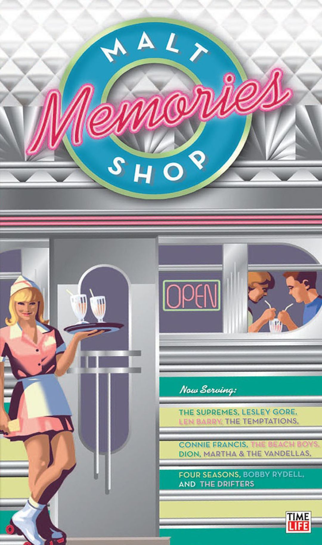 Malt Shop Memories Box Set - Various Artists  Songs -5240