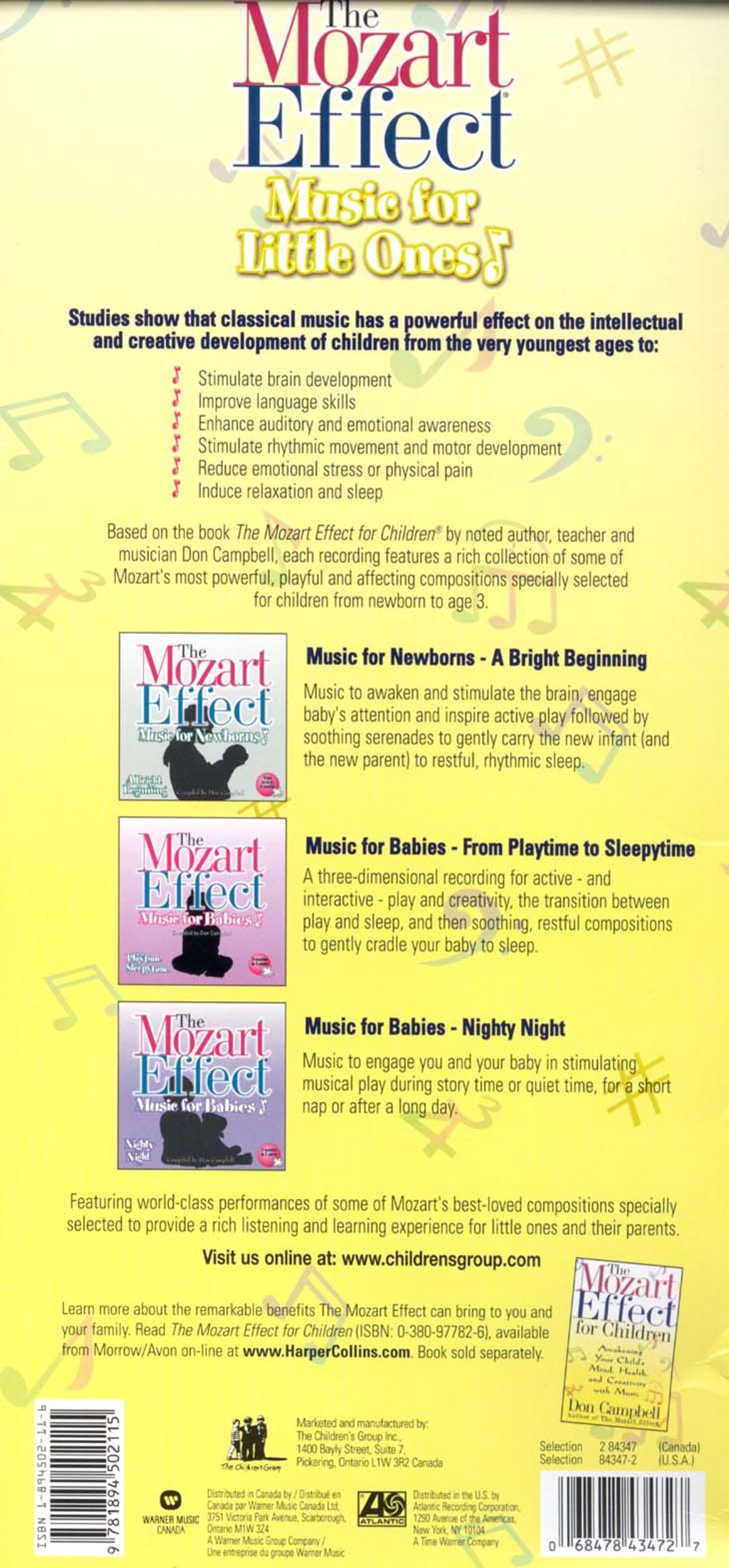The Mozart Effect: Music for Little Ones