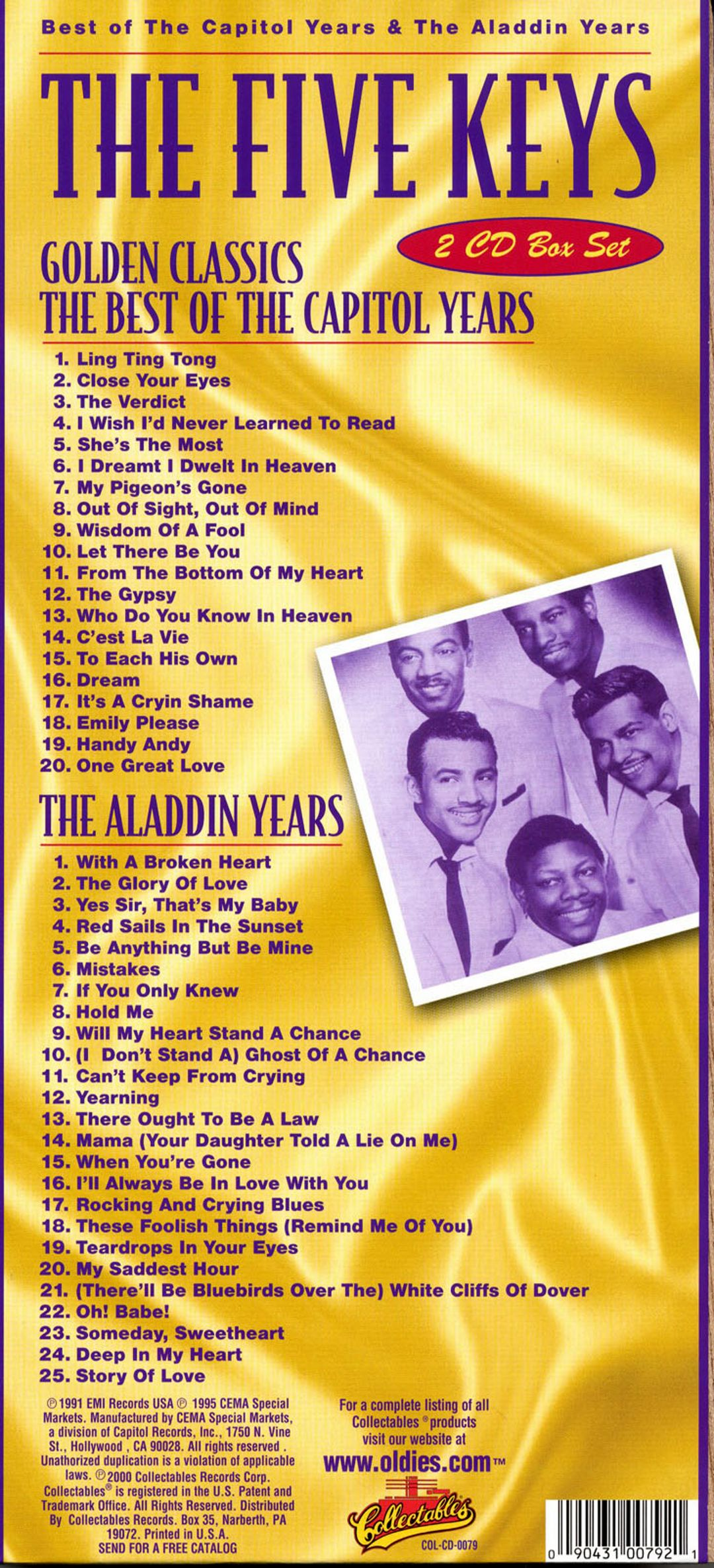 Best of the Capitol and the Aladdin Years
